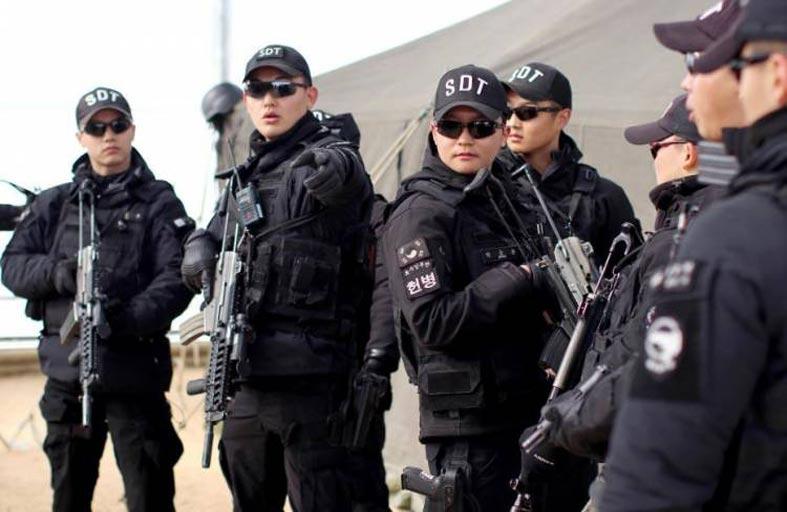 اقتحام مقر السفير الأمريكي في كوريا الجنوبية