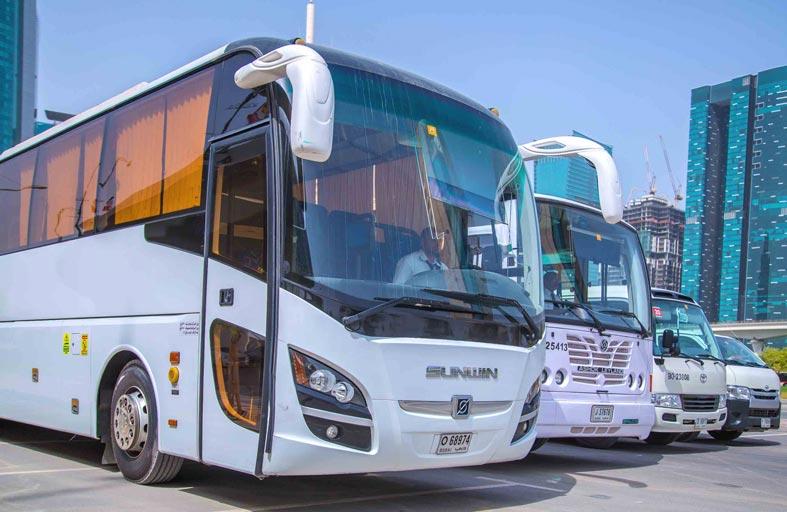 مواصلات الإمارات تبرم 238 عقداً في مجال النقل والتأجير بأبوظبي والظفرة والعين خلال النصف الأول