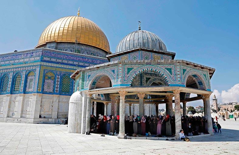 استنكار فلسطيني لاستخدام الاتحاد الاوروبي لفظ «جبل الهيكل»