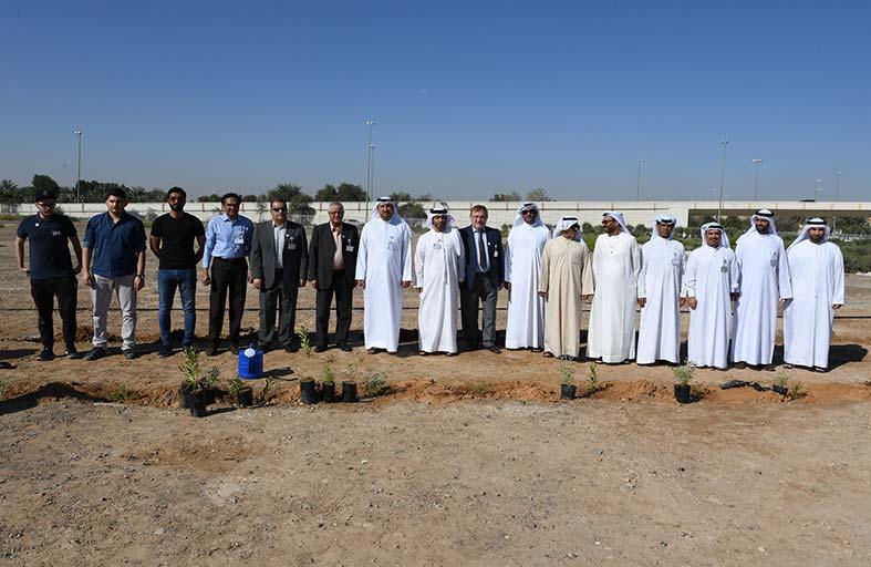 غرس زايد في جامعة الإمارات