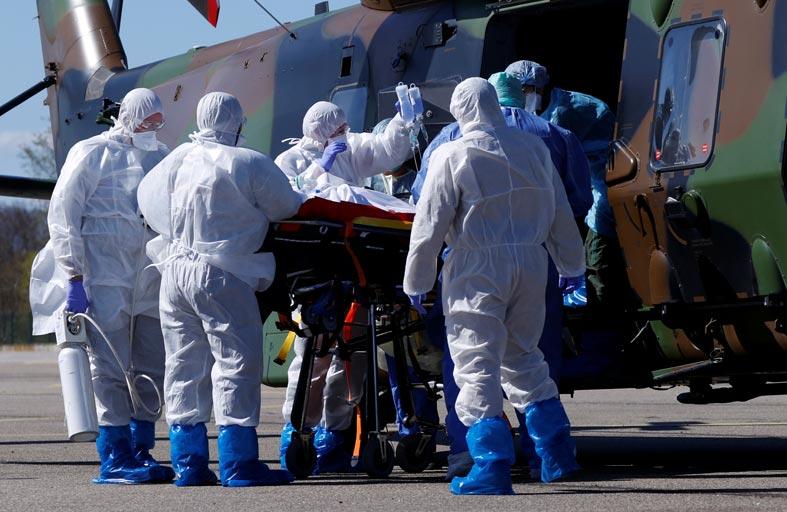 أمريكا تستعد للأسوأ وإسبانيا تسجل حصيلة وفيات قياسية
