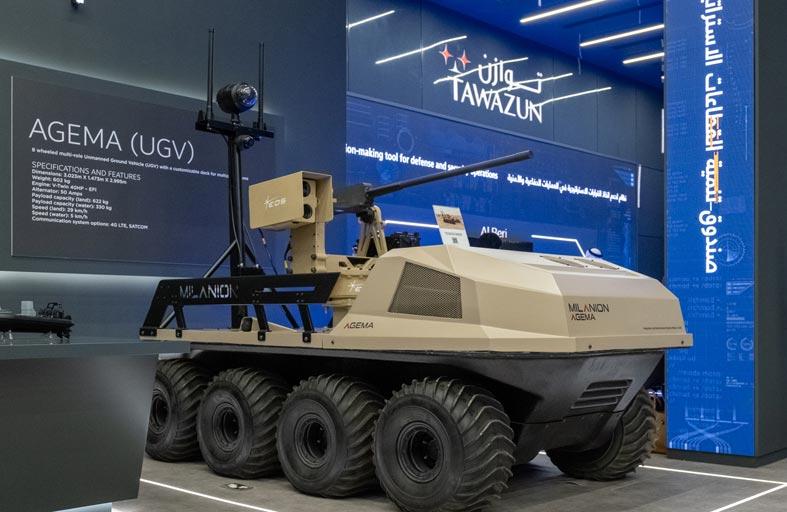 القوات البرية تعتزم شراء آليات غير مأهولة من شركة مراكب
