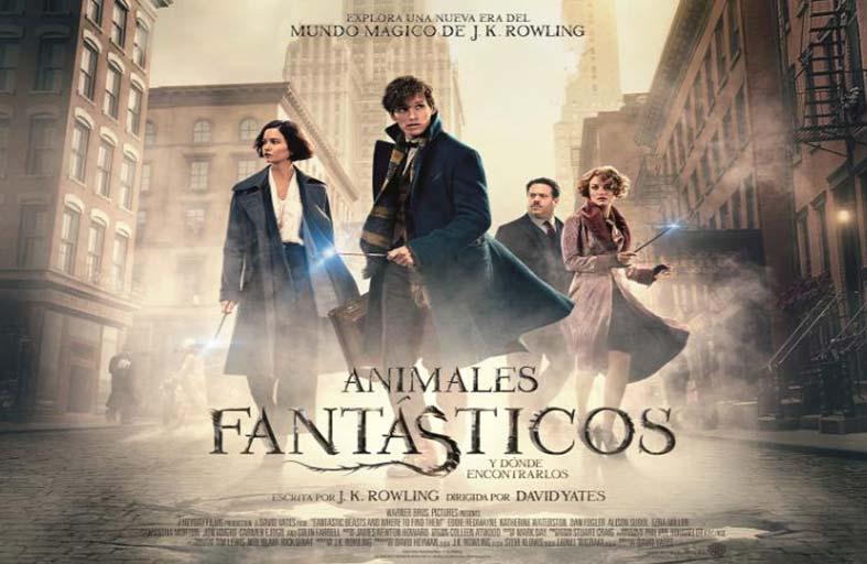 فيلم Fantastic Beasts يقتحم عالم السحرة