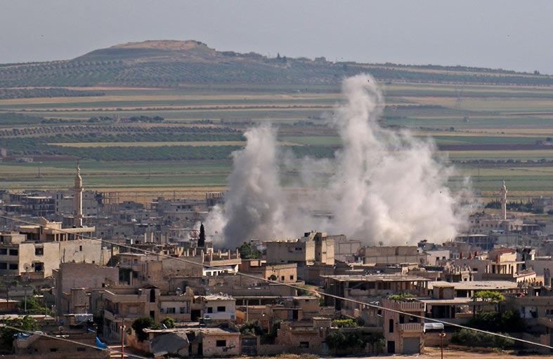 الأمم المتحدة تحذر من كارثة إنسانية في إدلب