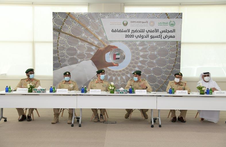عبد الله المري يناقش الاستعدادات الأمنية لافتتاح إكسبو 2020