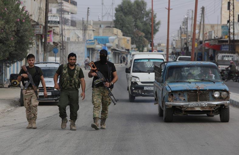 اشتباكات متقطعة في شمال سوريا
