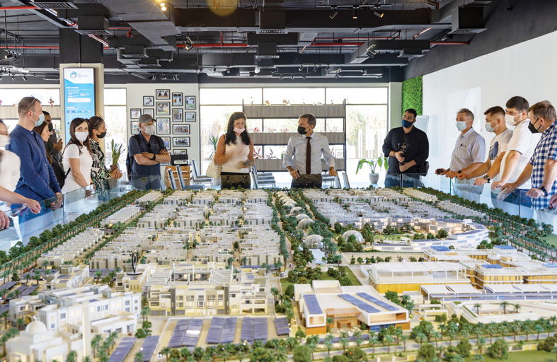 المدينة المستدامة تستضيف 300 مندوب من روسيا خلال زيارتهم إلى دبي ضمن برامج التدريب الدولية
