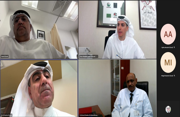 لجنة الطب الرياضي تعقد اجتماعها الدوري