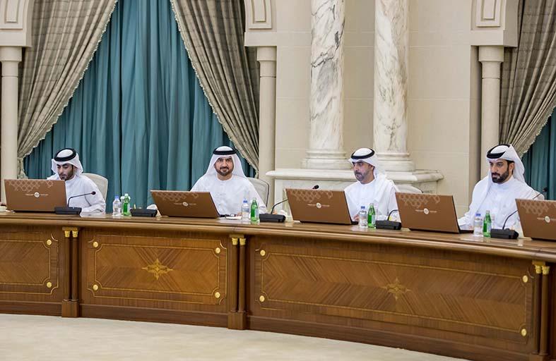 عبدالله بن سالم القاسمي يترأس اجتماع المجلس التنفيذي لإمارة الشارقة