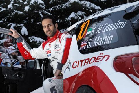 السائق الإماراتي يستعد للاختبار الأوسطي القادم مع فريق أبوظبي ستروين توتال العالمي للراليات