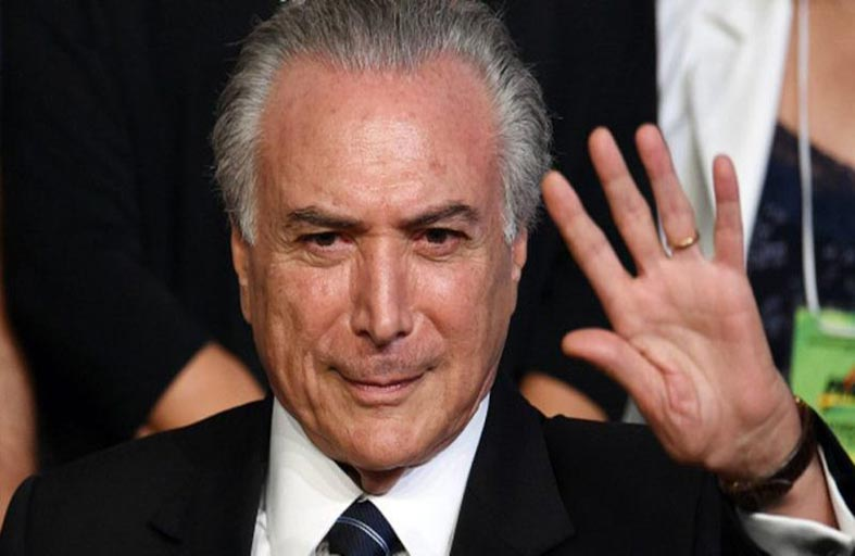 اعتقال الرئيس البرازيلي السابق ميشال تامر