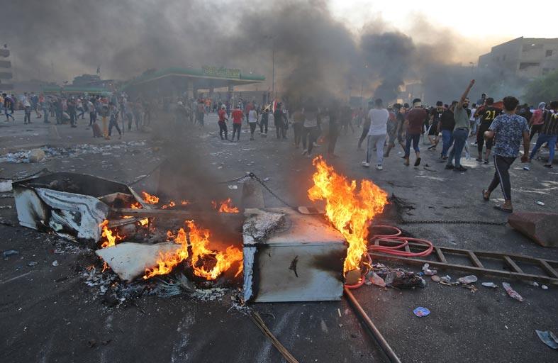 توسع الاحتجاجات يفاقم المخاوف من عودة داعش