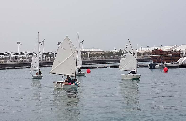 الشراعية الحديثة تعود إلى روزنامة دبي البحري