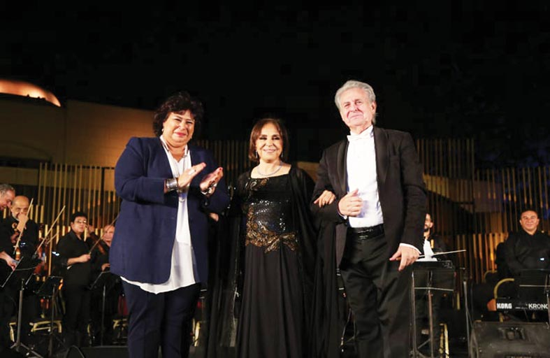 عفاف راضي: أعود لجمهوري بحفلات وألحان جديدة