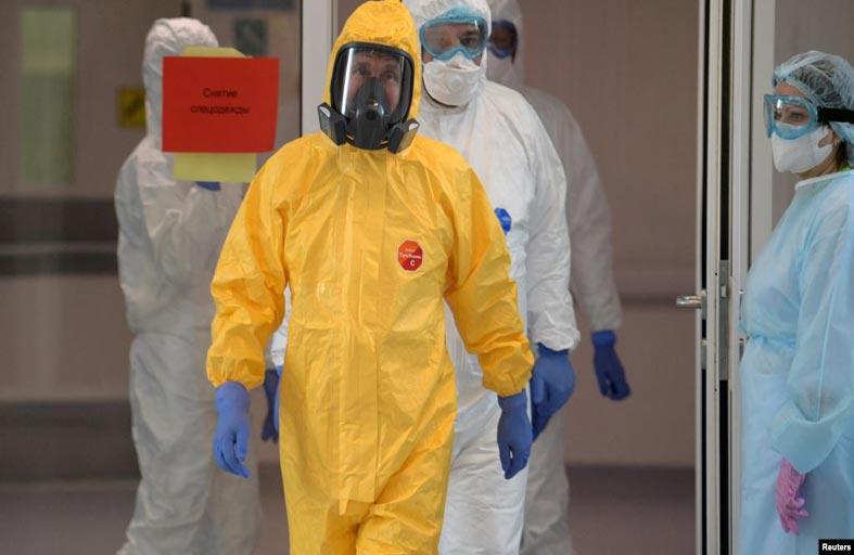 روسيا: فيروس كورونا ، شوكة في حلق بوتين...!