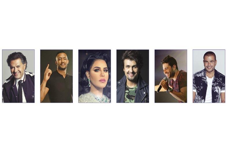 نجوم عالميون يضيئون سماء المدينة خلال مهرجان دبي للتسوّق 25