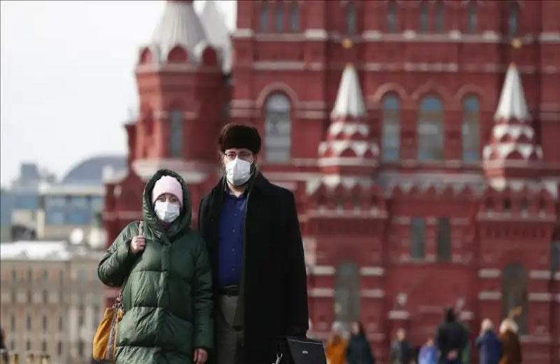روسيا تسجل 154 وفاة  و6693 إصابة جديدة بـكورونا