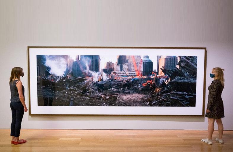 فيم فندرز يفتتح معرض صور عن هجمات سبتمبر
