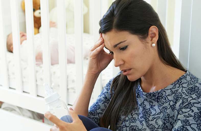 معلومات جديدة عن أسباب اكتئاب ما بعد الولادة