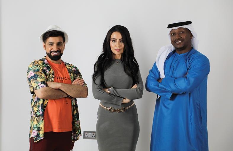النجم الإماراتي علي الطاهر في بطولة مسلسل بنات الماريونيت
