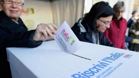 يسار الوسط يتقدم في انتخابات إيطاليا