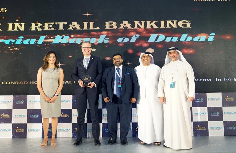 بنك دبي التجاري يحصد جائزة « التميز في الابتكار» من جوائز فينوفكس