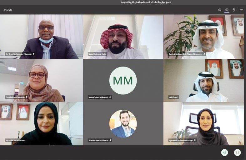 الزراعة والسلامة الغذائية تستعرض خوارزمية الذكاء الاصطناعي مع وزارة الزراعة السعودية