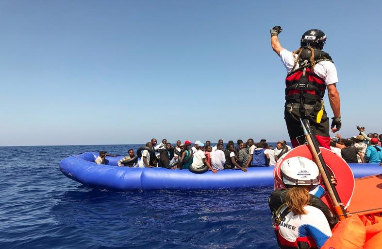 خطة أوروبية مؤقتة بشأن توزيع المهاجرين