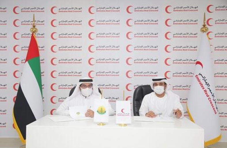 الهلال الأحمر يوقع اتفاقيات تعاون مع عدد من الجمعيات الخيرية في الدولة