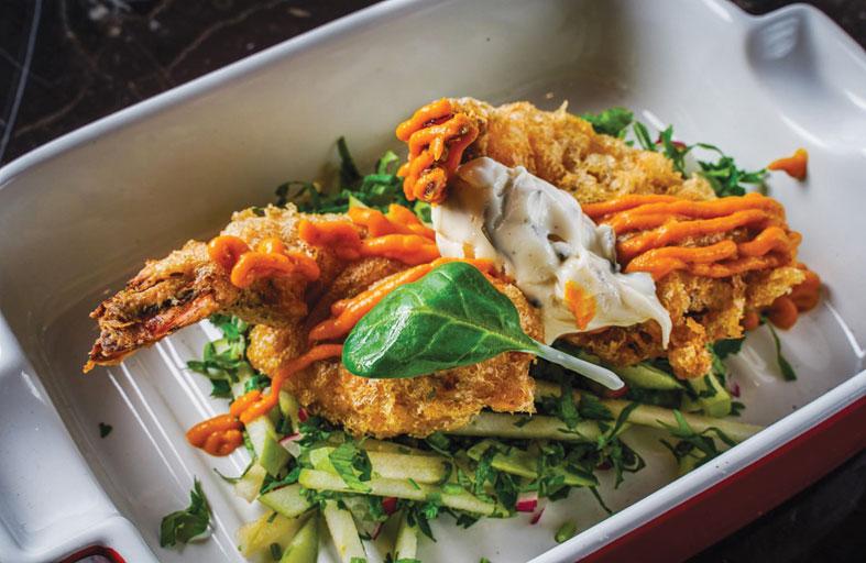 «الخزنة – غرين أوف سالت» يقدم الأطباق الهندية بطريقة فريدة