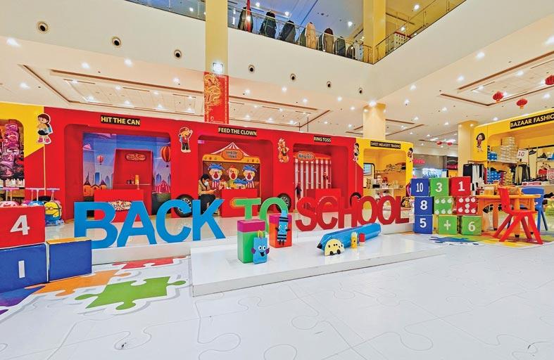 فعاليات  سوق العودة إلى المدارس في  سوق التنين تستمر حتى 11 سبتمبر