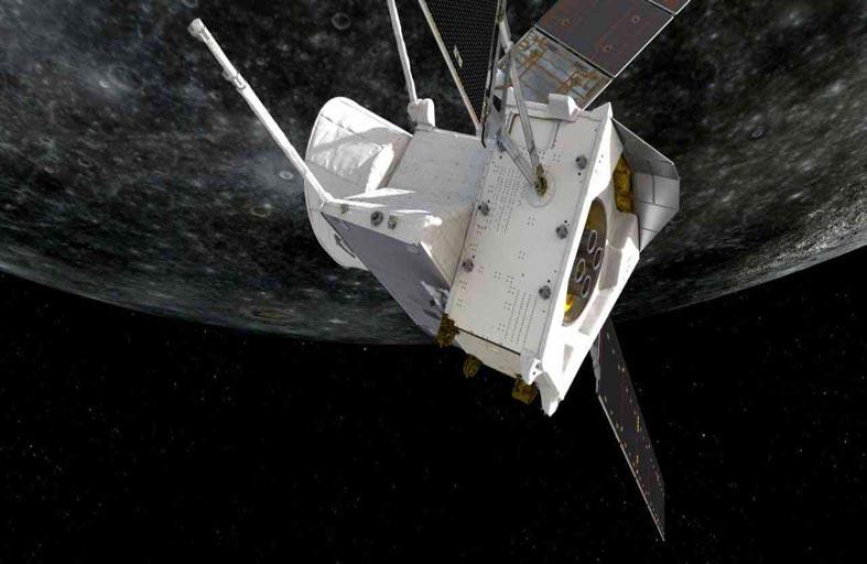 القمر الاصطناعي يلتقط أول صوره لعطارد
