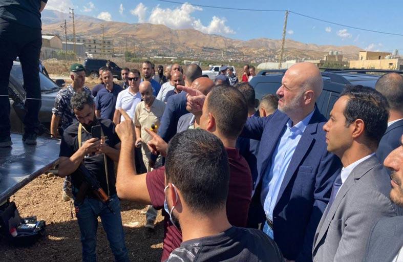 ضبط 20 طناً من نترات الأمونيوم في لبنان