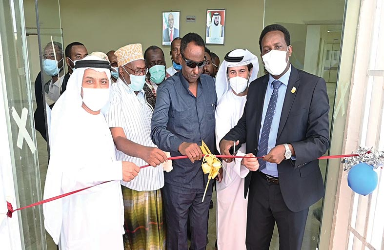 بتوجيهات رئيس الدولة ودعم محمد بن زايد .. الإمارات تفتتح مستشفيين في (بربرة وبرعو) بأرض الصومال