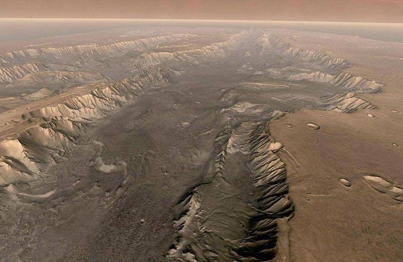 اكتشاف حقيقة غريبة عن الكوكب الأحمر