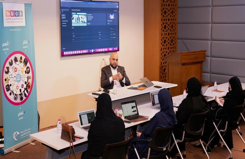 الشارقة للتدريب الإعلامي يطلق مبادرة (أنا أستطيع) لتأهيل المواهب الإعلامية الإماراتية
