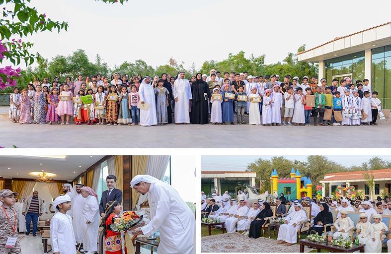حميد النعيمي يحضر فعاليات «مهرجان عجمان للأيتام»