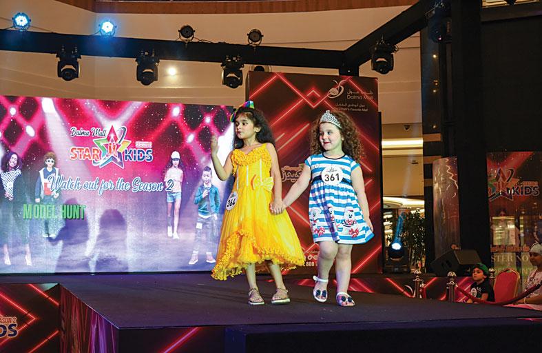دلما مول ينظم النسخة الثانية من عرض أزياء «ستار كيدز»