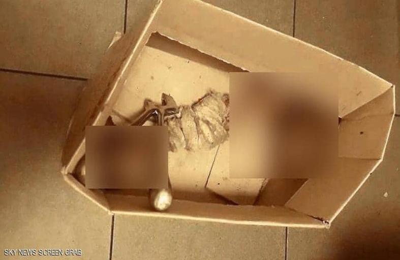 بقايا عظام بشرية في النفايات بلبنان