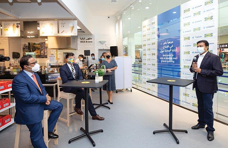 افتتاح متجر إيكيا في الوحدة مول بأبوظبي