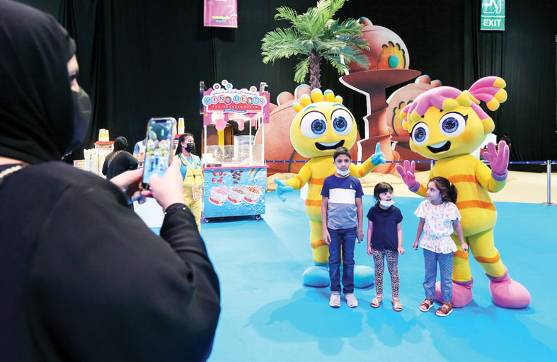 عالم مدهش وجهة العائلات والزوار المليئة بالتشويق والمرح خلال مفاجآت صيف دبي