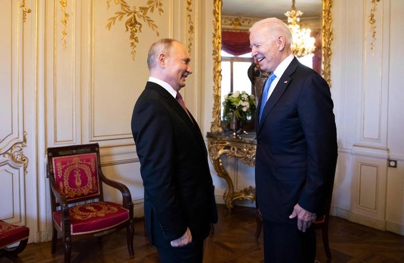 بايدن يعتبر روسيا مجرد لاعب ثانوي في عالم تنشغل فيه واشنطن أكثر بالصين