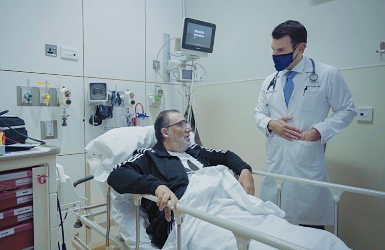 عادل ينصح باتباع نظام غذائي صحي وممارسة الرياضة للحفاظ على صحة القلب