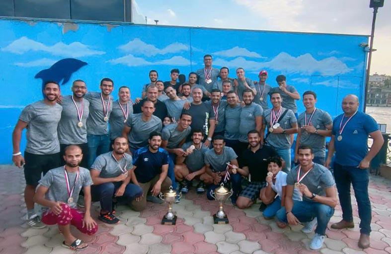 فريق «إم آر» الرياضي يفوز ببطولة التجديف الأولمبي في مصر
