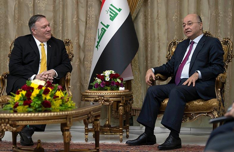 زيارة مفاجئة لوزير الخارجية الأميركي إلى بغداد