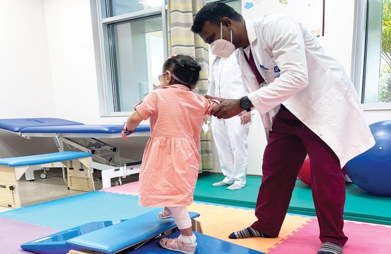 عيادات العلاج الطبيعي في الخدمات العلاجية الخارجية تحسن من نوعية حياة المرضى