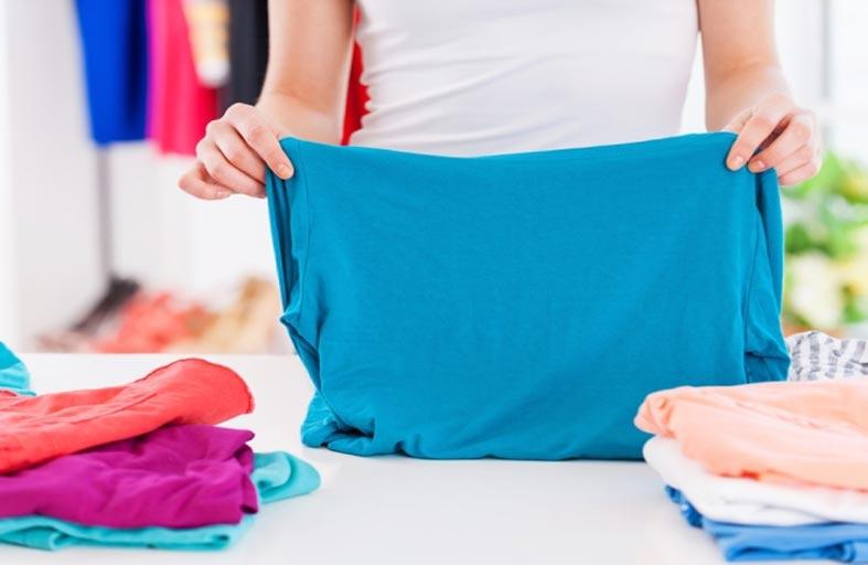 خطوات تنظيف الملابس الملونة من بقع الحبر