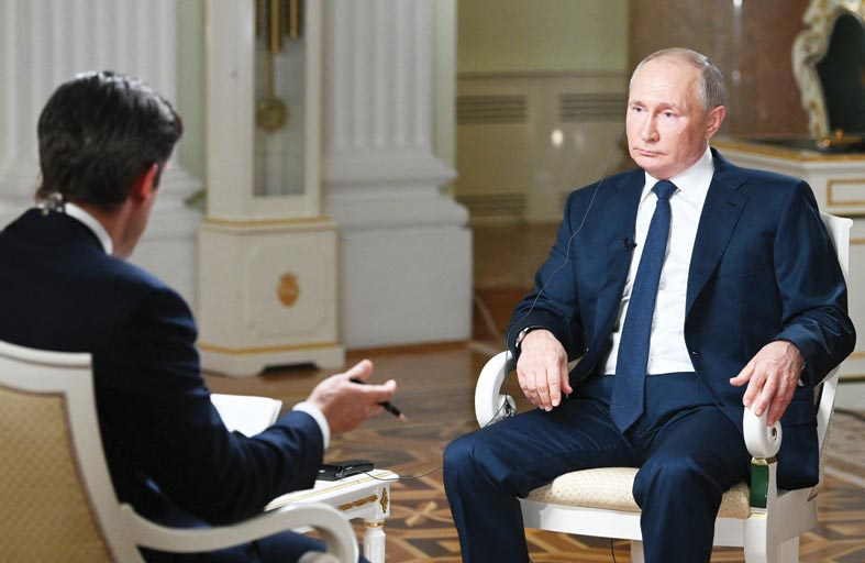 بوتين منفتح على تبادل السجناء بين روسيا وأمريكا