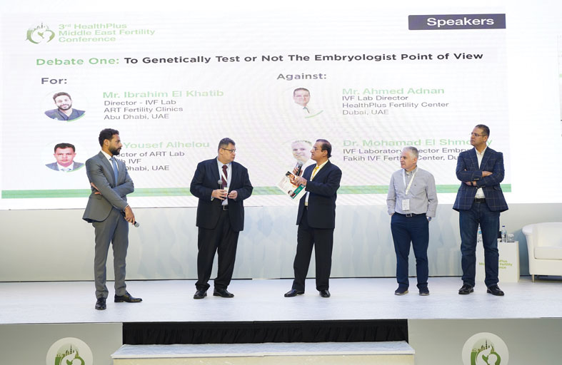 مؤتمر هيلث بلاس الشرق الأوسط السنوي للخصوبة يختتم أعماله في دبي