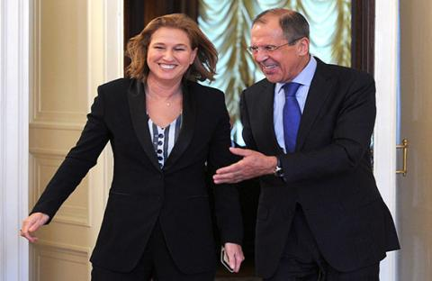 ليفني في روسيا لمنع صواريخ إس 300 لسوريا